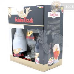 Белгия – Gulden Draak gift pack – 2х330cl+glass