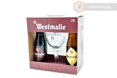 Белгия – Westmalle gift pack – 2х330cl+чаша