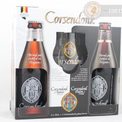 Белгия – Corsendonk подаръчен комплект 2x33cl+чаша