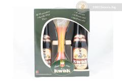 Белгия – подаръчен комплект Pauwel Kwak 4x33cl + чаша
