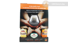 Белгия – Bush Gift Pack – 4х330cl+чаша