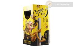 Белгия – Cuvee Des Trolls gift pack – 6х330cl+чаша
