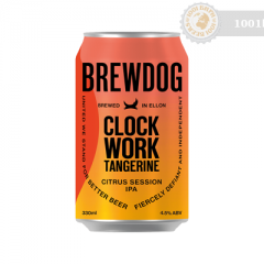 Шотландия – Brewdog Clockwork Tangerine Can