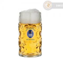 Германия – Hofbrau Чаша/Халба Стъклена 1000