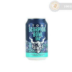 САЩ – Stone Scorpion Bawl IPA Can
